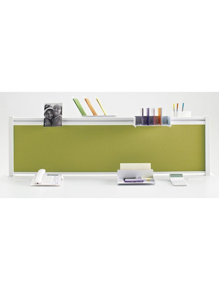 ecran de s paration en tissu pour bureau teos delex mobilier. Black Bedroom Furniture Sets. Home Design Ideas