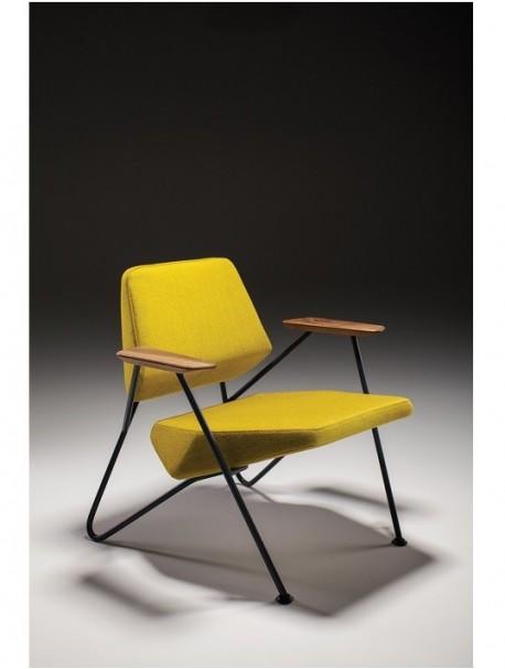 delex mobilier fauteuil de d tente design 1 place polygon. Black Bedroom Furniture Sets. Home Design Ideas