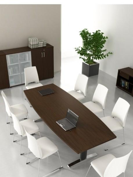 Table de réunion tonneau 8 personnes VINO