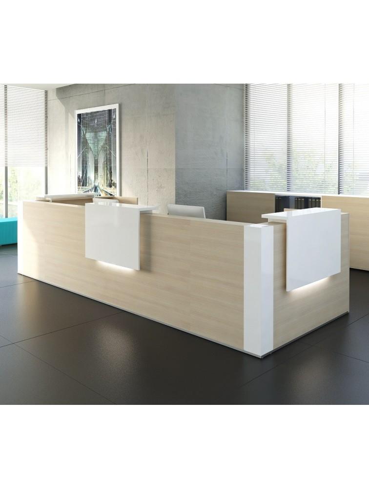Banque d 39 accueil design pas cher composer tera delex for Bureau accueil