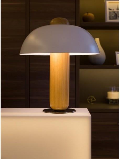 Lampe abat-jour blanc design CLOCHETTE