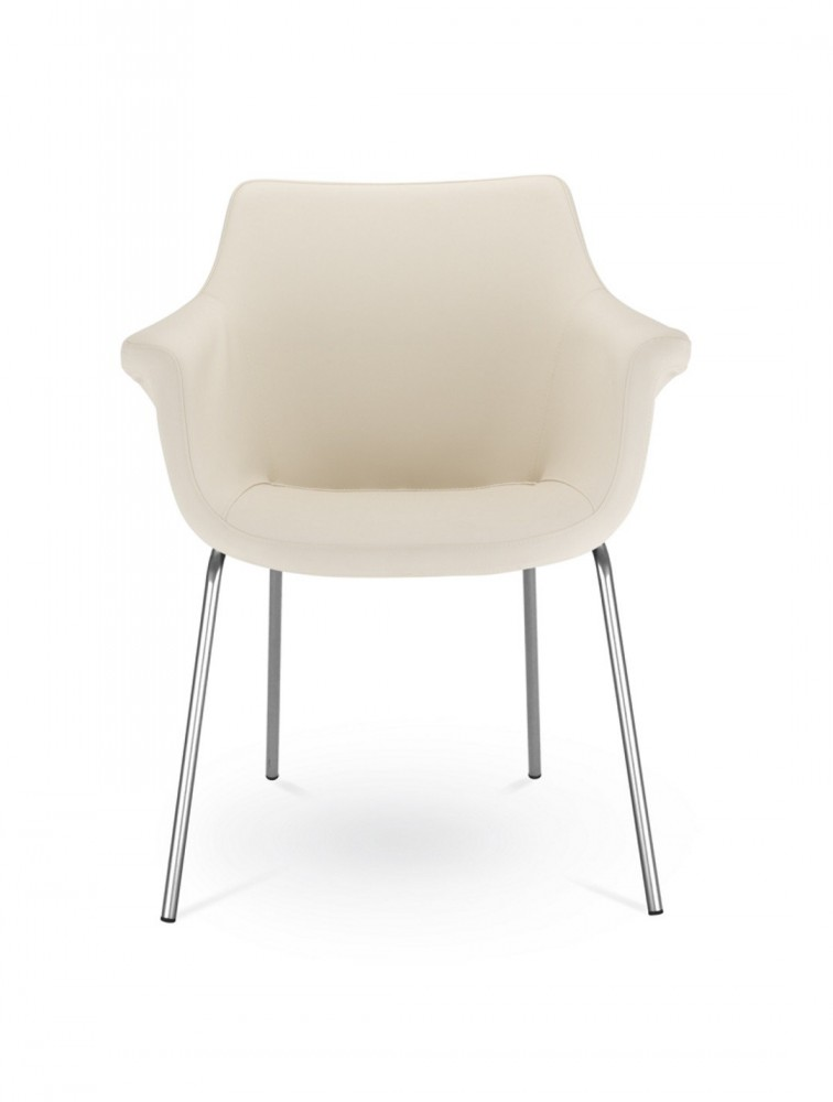 chaise de r union contemporaine en similicuir kaika. Black Bedroom Furniture Sets. Home Design Ideas