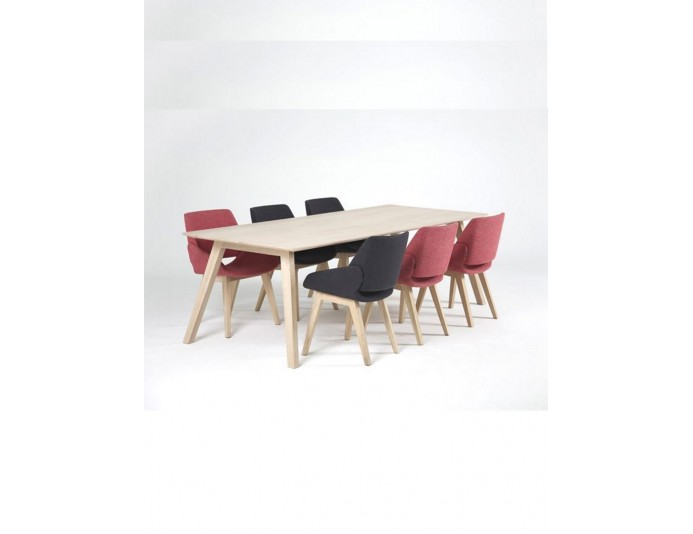 Table design scandinave en chêne massif MONK