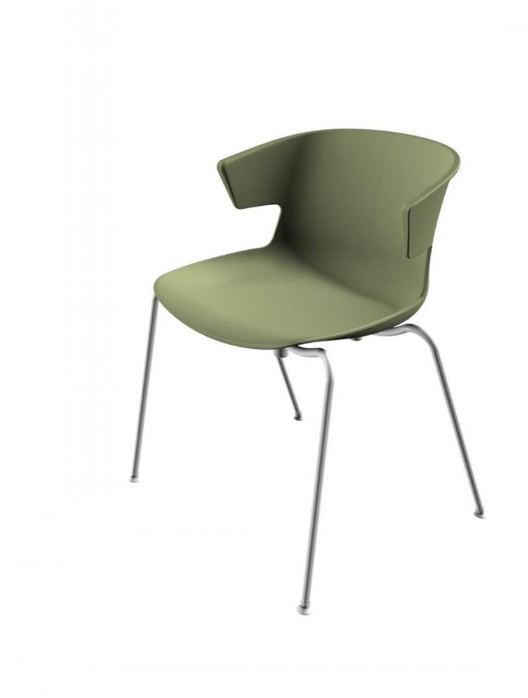 chaise de collectivit design en polypropyl ne cove marque offisit. Black Bedroom Furniture Sets. Home Design Ideas