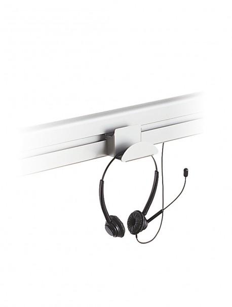 Support de casque sur rail pour bureau TEOS