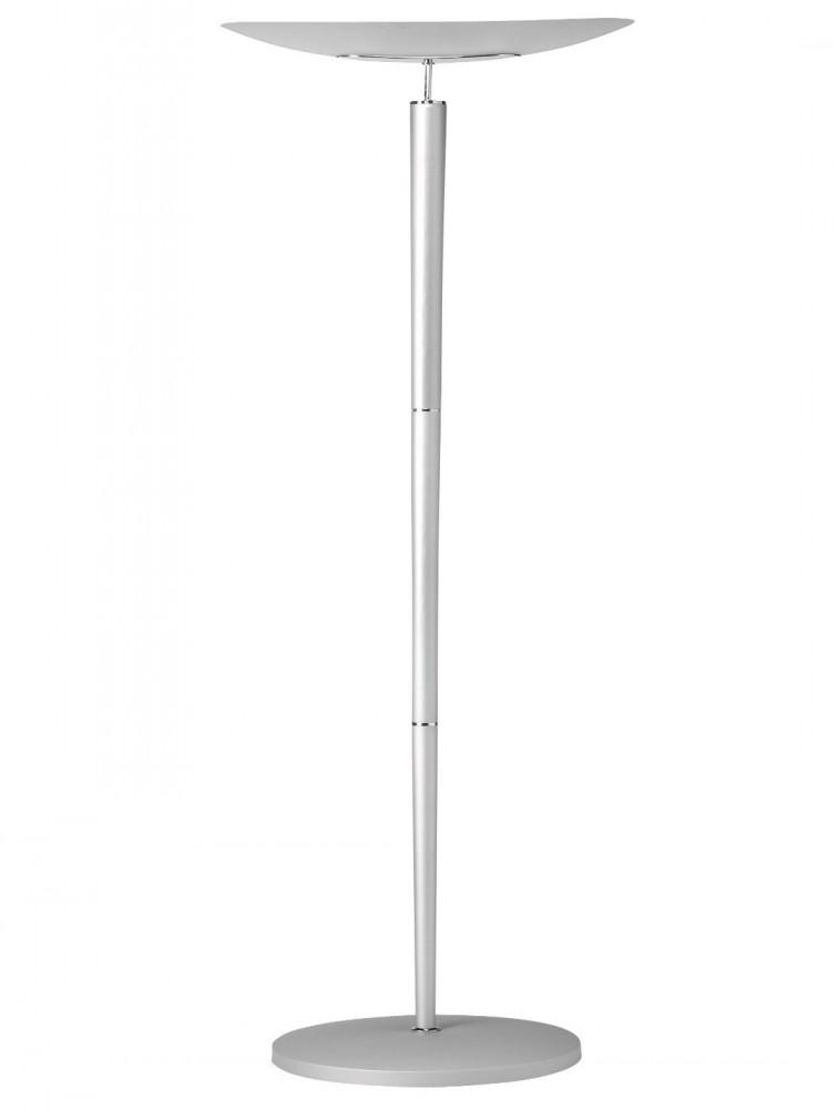 lampadaire avec ampoule halog ne design argent cristalia. Black Bedroom Furniture Sets. Home Design Ideas