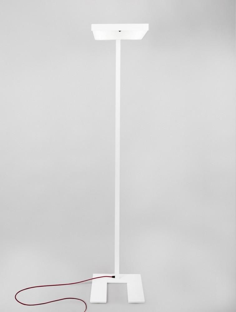 lampadaire ampoule led design contemporain blanc akia delex mobilier. Black Bedroom Furniture Sets. Home Design Ideas