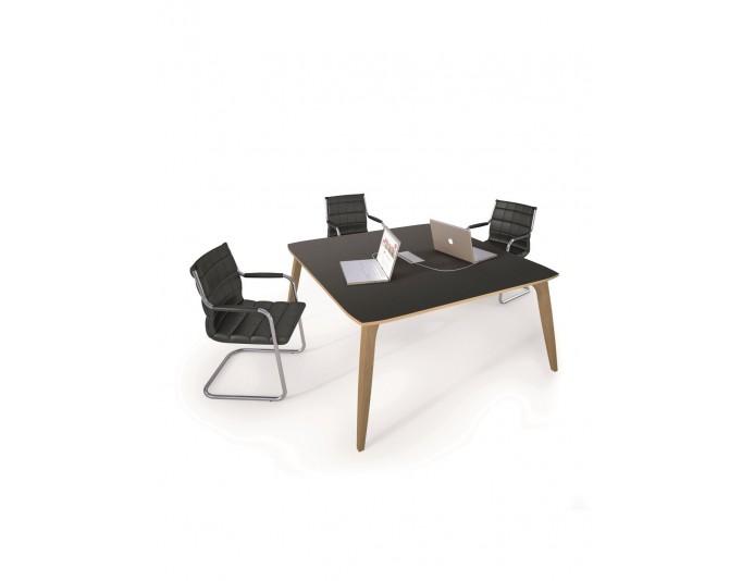 Table de réunion carrée ORGANIK