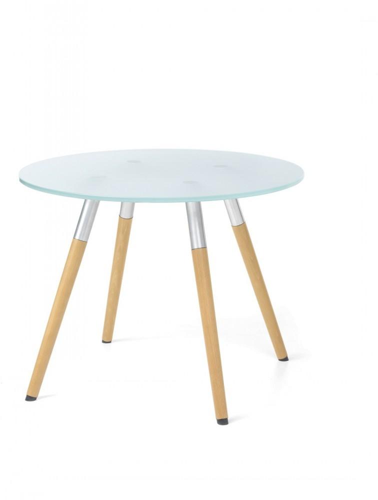 Table Basse Ronde En Verre Bip Bop
