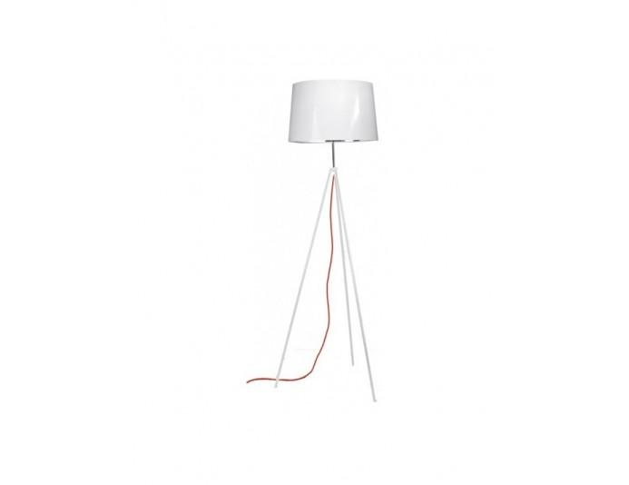 Lampadaire design blanc hauteur 156cm TROPIC