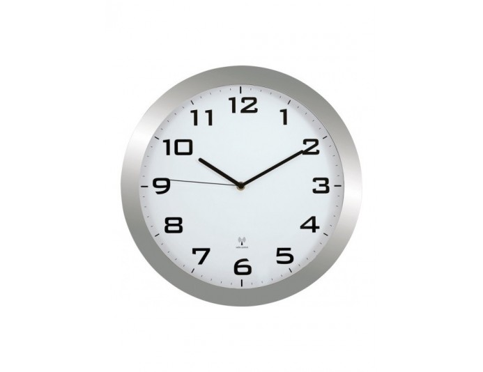 Horloge murale ronde radiopiloté Ø 38 cm HORUS