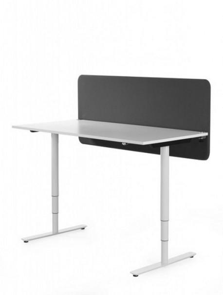 Cloison acoustique de table coloris noir SOFTLINE 30