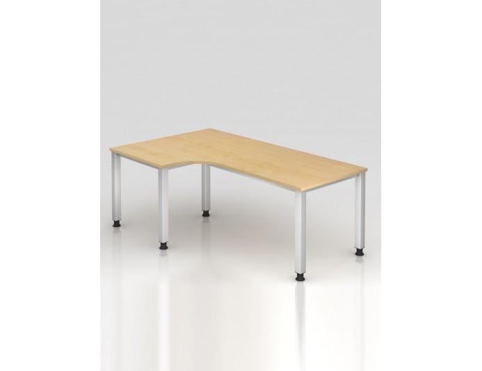 Bureau d 39 angle r glable en hauteur lectriquement city - Bureau reglable en hauteur ergonomique ...