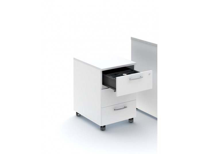 Caisson mobile 3 tiroirs hauteur 58 cm VANITY