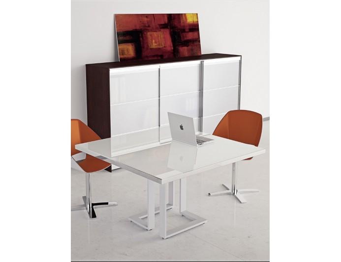 Table de réunion carrée ARCHIMEDE