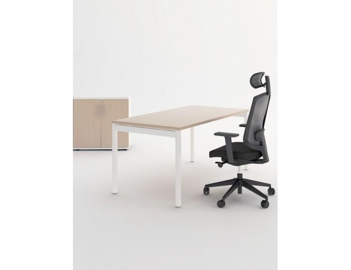 Pack bureau opérateur complet OGI | 1 bureau + 1 armoire + 1 siège
