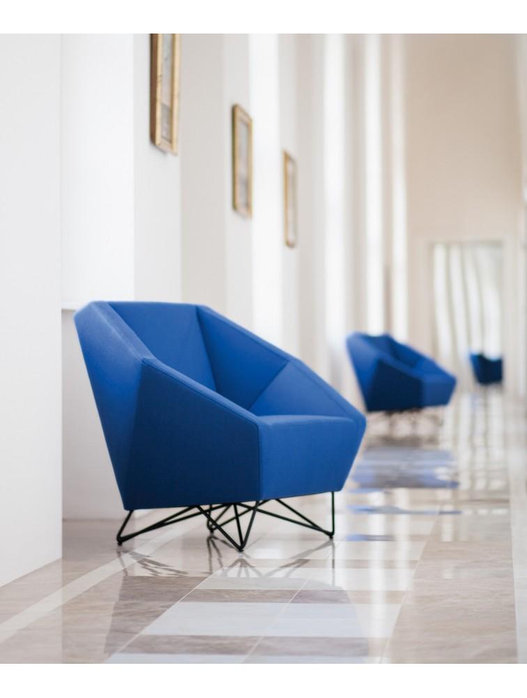 fauteuil d 39 accueil design 1 place 3angle delex mobilier. Black Bedroom Furniture Sets. Home Design Ideas