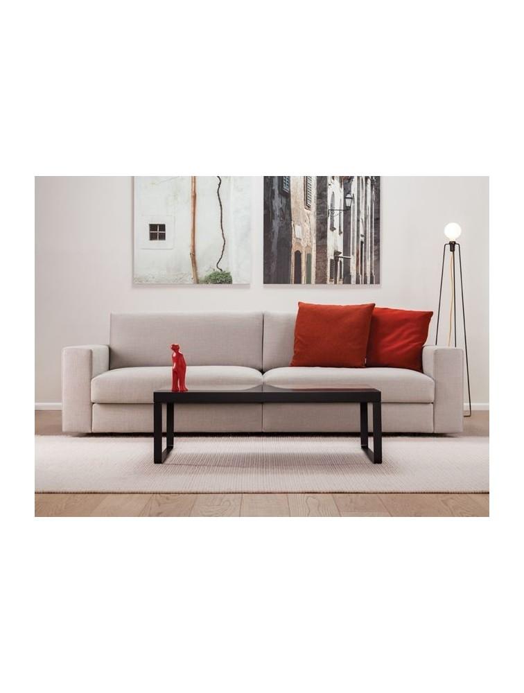 Delex mobilier canap contemporain 2 places classic en tissu for Mobilier canape
