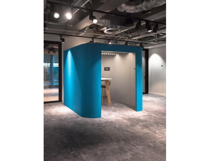 Box acoustique ouvert OASIS SOFT BOOTH