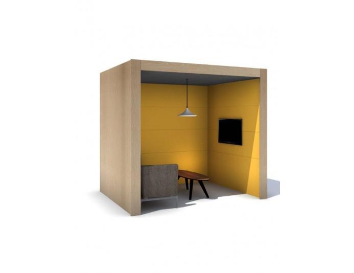 Box acoustique pour bureau OASIS LINEAR BOOTH