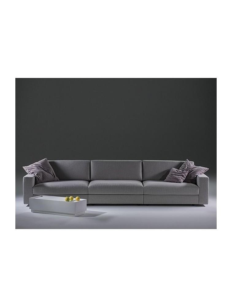 Canapé Contemporain Places CLASSIC En Tissu Delex Mobilier - Canapé contemporain