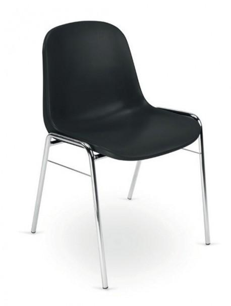 Achetez lot de 4 chaises polyvalente en polypropylène pas cher