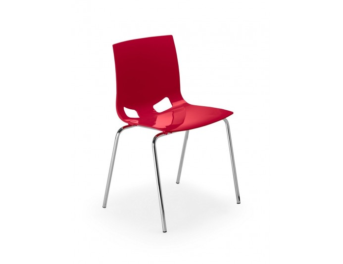 Lot de 4 chaises polyvalentes FONDO
