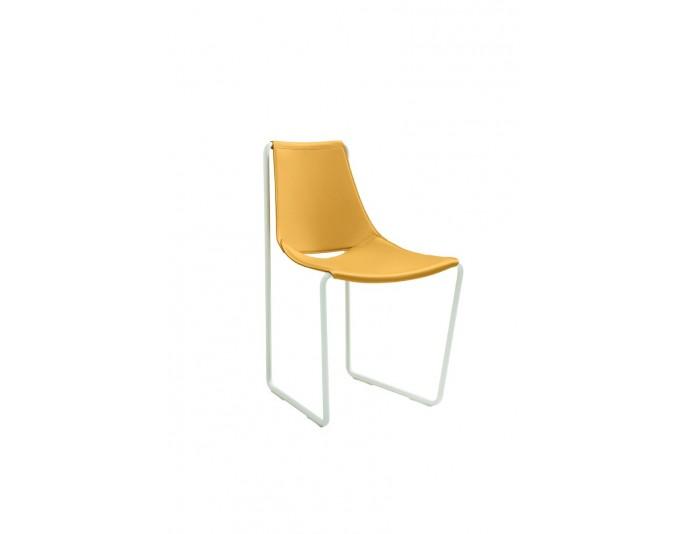 Fauteuil design et moderne en cuir APELLE
