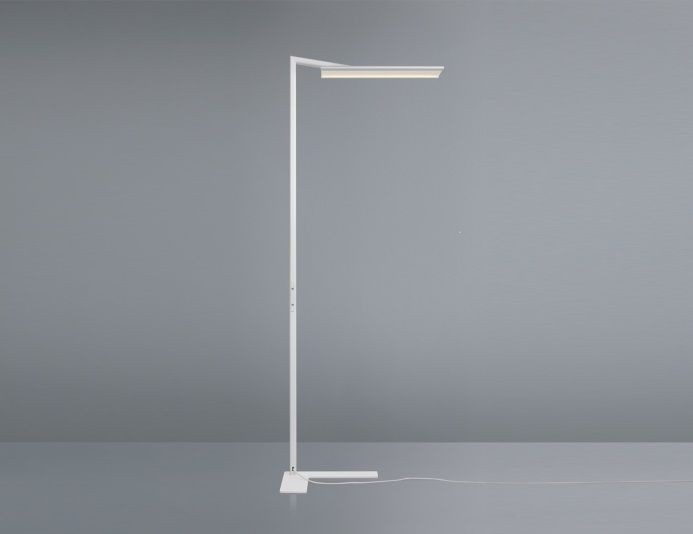 Lampadaire professionnel blanc FLY