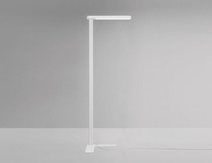 Lampadaire de bureau LED H.195 cm MORE - Blanc - KARBOXX
