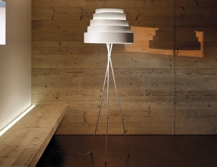 Lampadaire avec abat-jour H.180 cm BABEL - KARBOXX