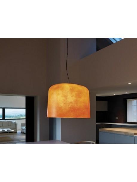 Luminaire suspendu en verre OLA - Orange