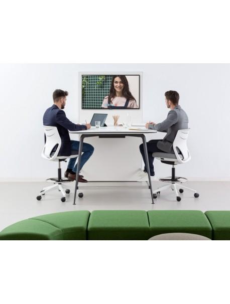 Table haute connectée pour visioconférence TWIST