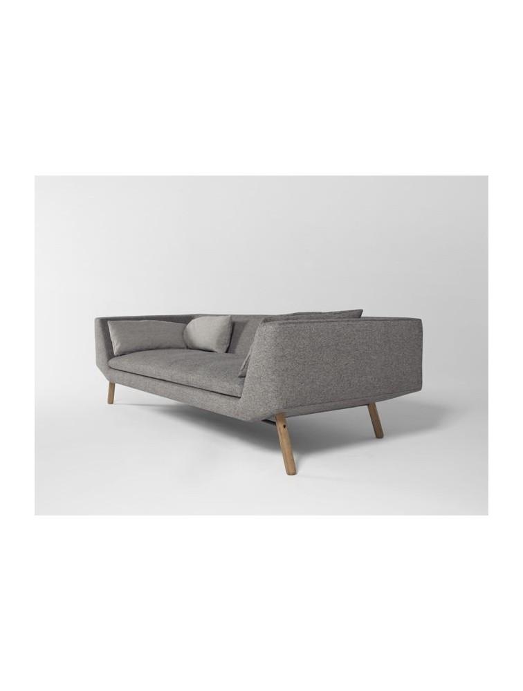 selection delex mobilier canap scandinave 3 places combine. Black Bedroom Furniture Sets. Home Design Ideas