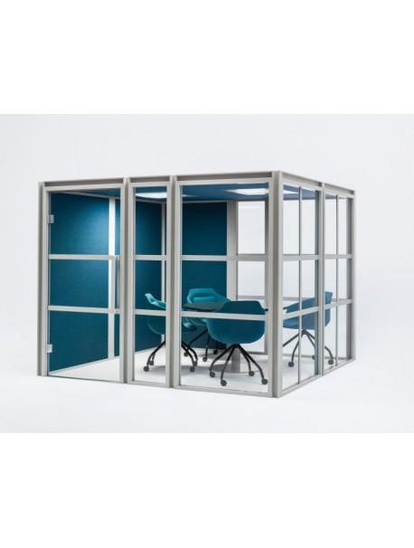 Salle de réunion acoustique modulable HAKO MEETING XL | MDD