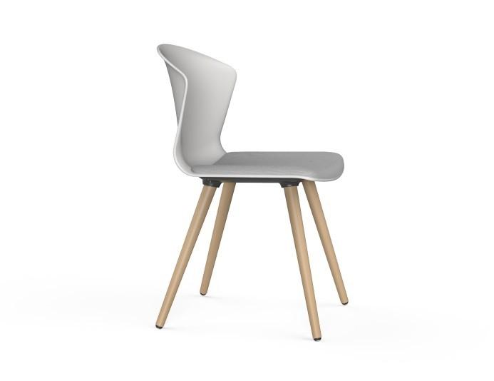 Chaise de collectivité 4 pieds bois WHASS