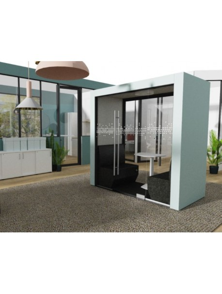 Cabine acoustique de bureau sur mesure BUBBLE BOX