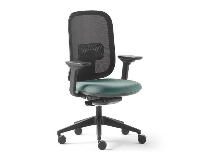 Chaise de bureau ALAIA dossier résille