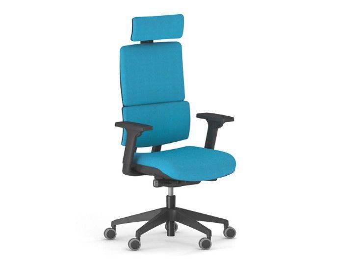 Fauteuil de bureau ergonomique WI-MAX en tissu