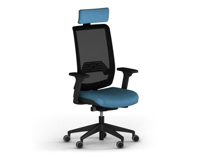 Fauteuil de bureau ergonomique WI-MAX dossier résille