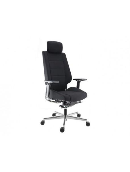 Fauteuil de bureau ergonomique AZKAR - Noir