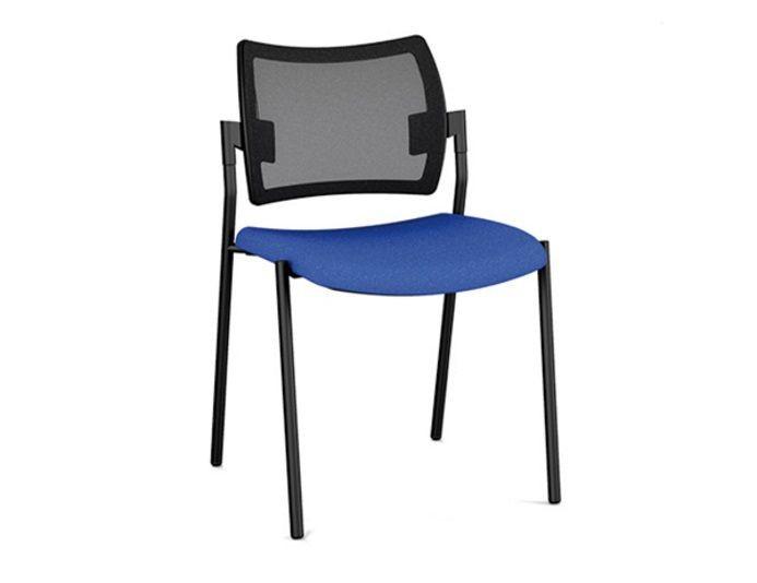 Chaise de réunion empilable AMET en résille