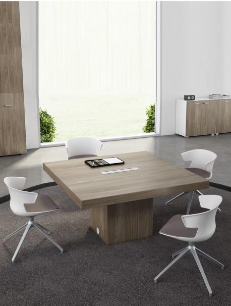 Table de réunion carrée QUADRA
