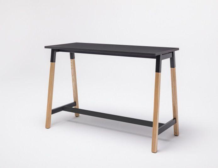 Table haute en bois OGI W