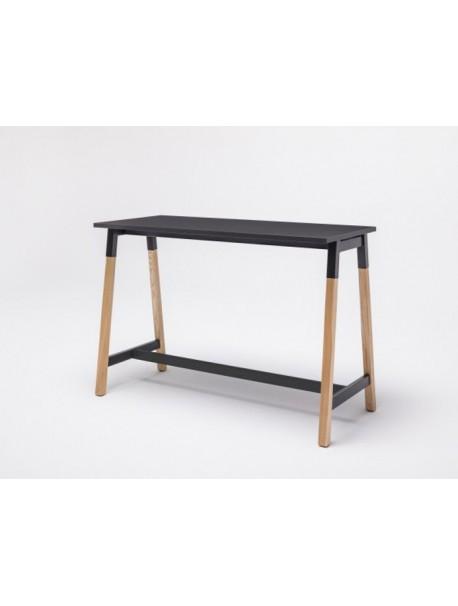 Table haute en bois OGI W - Noir