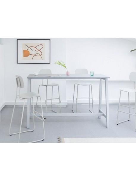 Table haute mange debout OGI M - Blanc