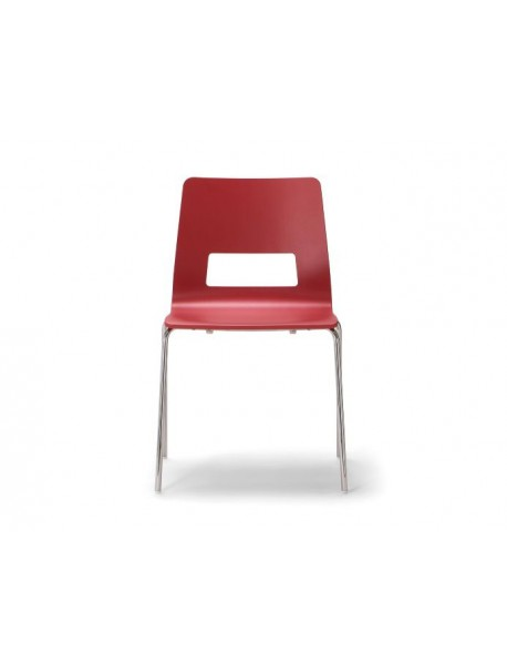 Chaise polyvalente pas cher CELSIUS - Rouge