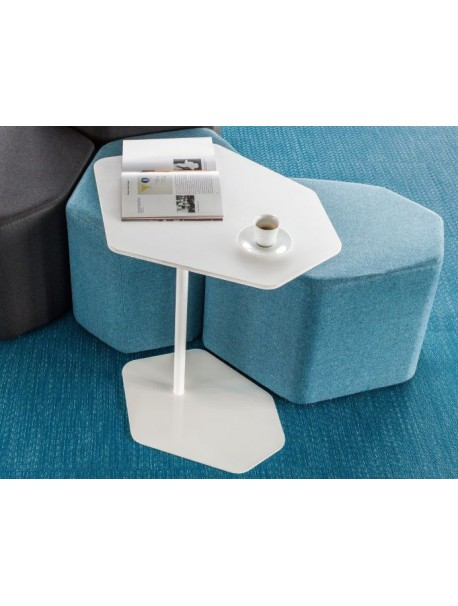 Table basse blanche BAZALTO
