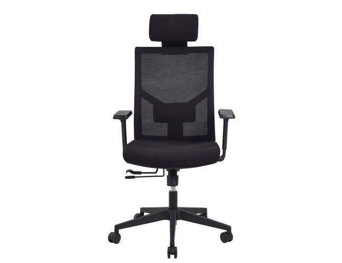 Siège ergonomique ZACK - Noir - SITEK