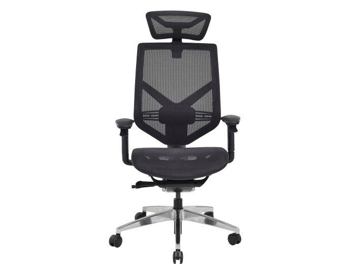 Fauteuil de bureau ergonomique TECHNO - Noir - SITEK